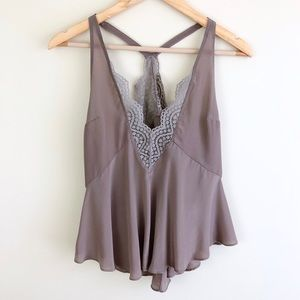 Free People Intimately Only With You Silk Cami